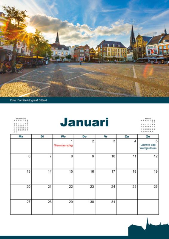 Evenementen kalender Sittard 2020