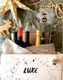Luxe feestdagen wijnpakket 6 flessen