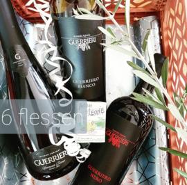 Wijnpakket Guerrieri 6 flessen