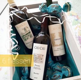 Wijnpakket Ciù Ciù 6 flessen