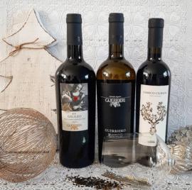 Feestdagen wijnpakket Guerrieri met Ricette della Nonna.