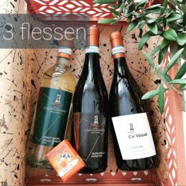 Wijnpakket Castelnuovo del Garda 3 flessen