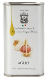 Extra vergine olijfolie met knoflook 250ml