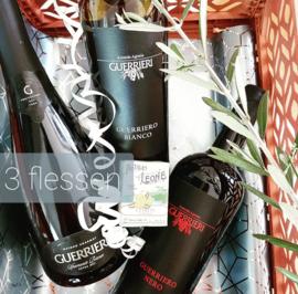 Wijnpakket Guerrieri 3 flessen
