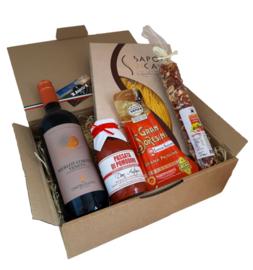 Italiaans pastapakket Amico del Vino