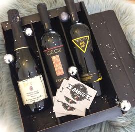 Kerstdiner wijnpakket 3 flessen