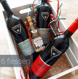 Wijnpakket Pescaja 6 flessen