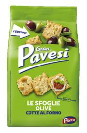Crackers Gran Pavesi olijf 190g