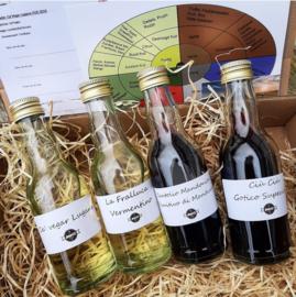 Online wijnpakket UNO - 4 wijnen  (24 april)