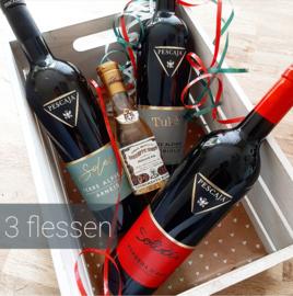 Wijnpakket Pescaja 3 flessen