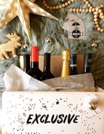 Exclusieve feestdagen wijnpakket 6 flessen