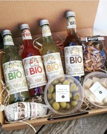 Non alcohol pakket BIO- 4 frisdranken + delicatessen