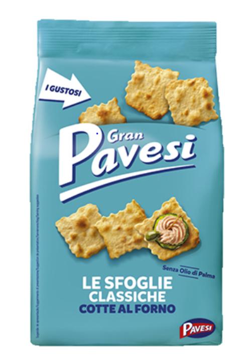 Crackers Gran Pavesi naturel zeezout 190g