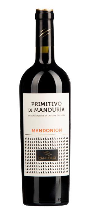 Cantolio Primitivo di Manduria Mandonion 2020