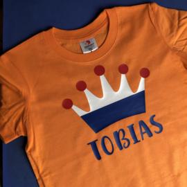 Oranje T-shirt koningsdag