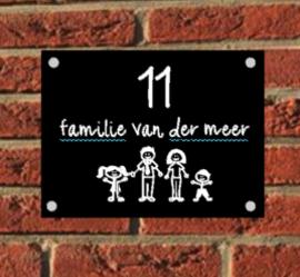 Naambord Familie
