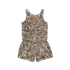 Jumpsuit short Zebra