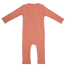 Jumpsuit dots - zalm