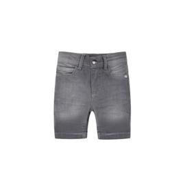 Denim short light grey