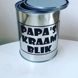 Papa's kraamblik