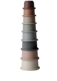 Mushie cups stapelblokken