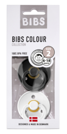 Bibs speen black/white T2