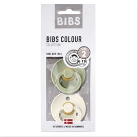 Bibs speen Sage/ivory T2