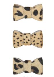 KIDOOZ Set haarspeldjes strik leo dot-cheetah-leopard