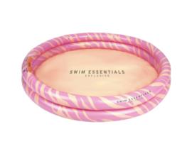 Swim Essentials zwembad zebra 100cm