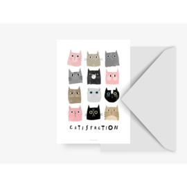CARD ''CATISFACTION''