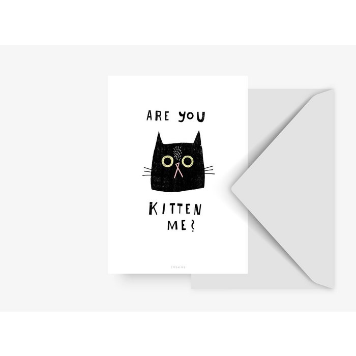 ''ARE YOU KITTEN ME''