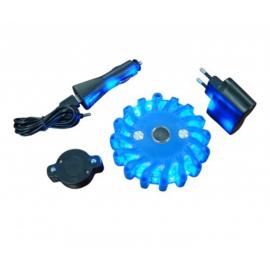 Combi flare oplaadbaar blauw