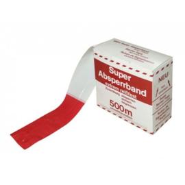 Afzetlint rood wit