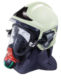 MSA Gallet F1 XF helm wit