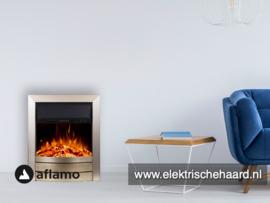 Aflamo Dexter brons - Voorzethaard elektrische sfeerhaard