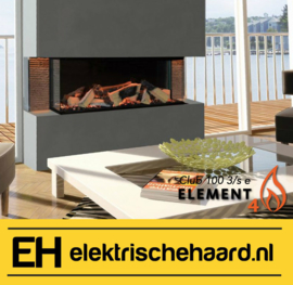 Element4 Club 100 3/S - Elektrische haard met App bediening
