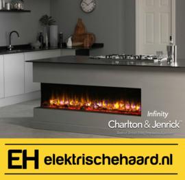 Charlton & Jenrick Infinity fx150/e - Elektrische haard inbouw