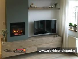 Classicflame Monaco 47 x 43cm - Elektrische inbouw sfeerhaard
