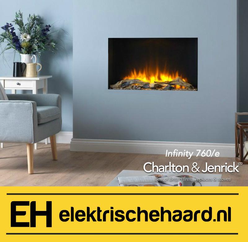 Charlton & Jenrick Infinity fx780 - Elektrische haard inbouw