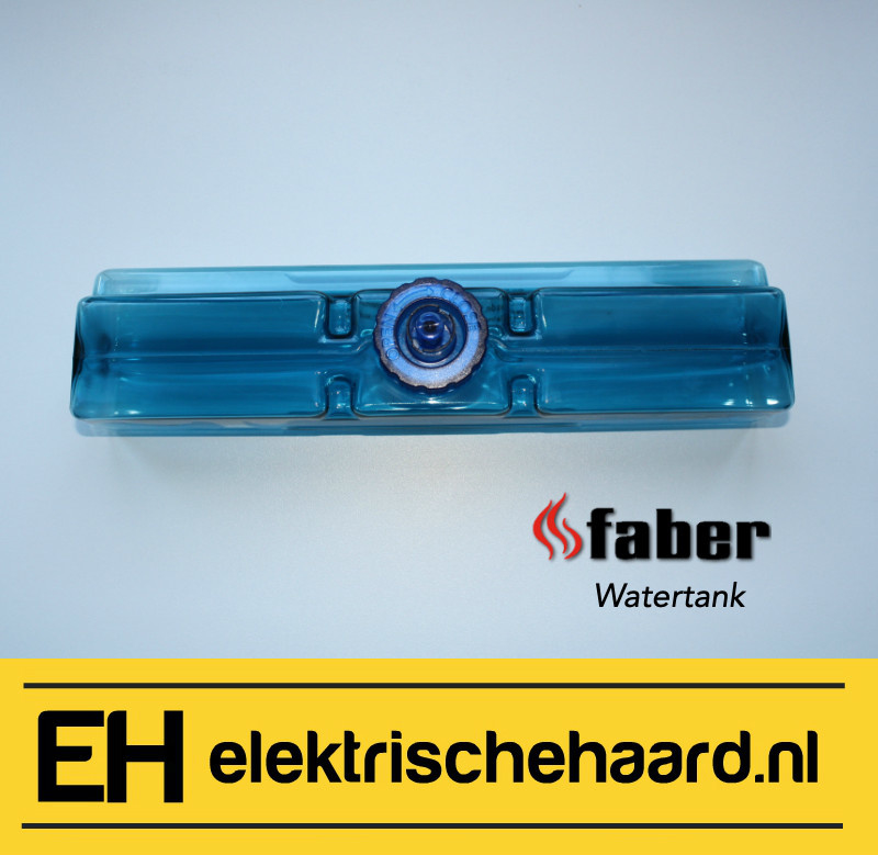 Dimplex Faber Opti-myst waterreservoir - watertank blauw