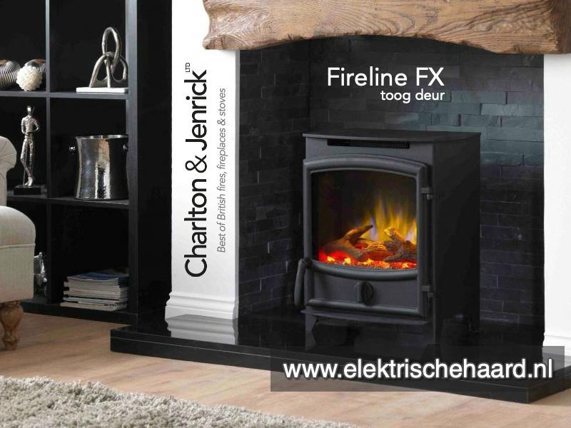 Charlton & Jenrick FX Fireline - Vrijstaande sfeerhaard