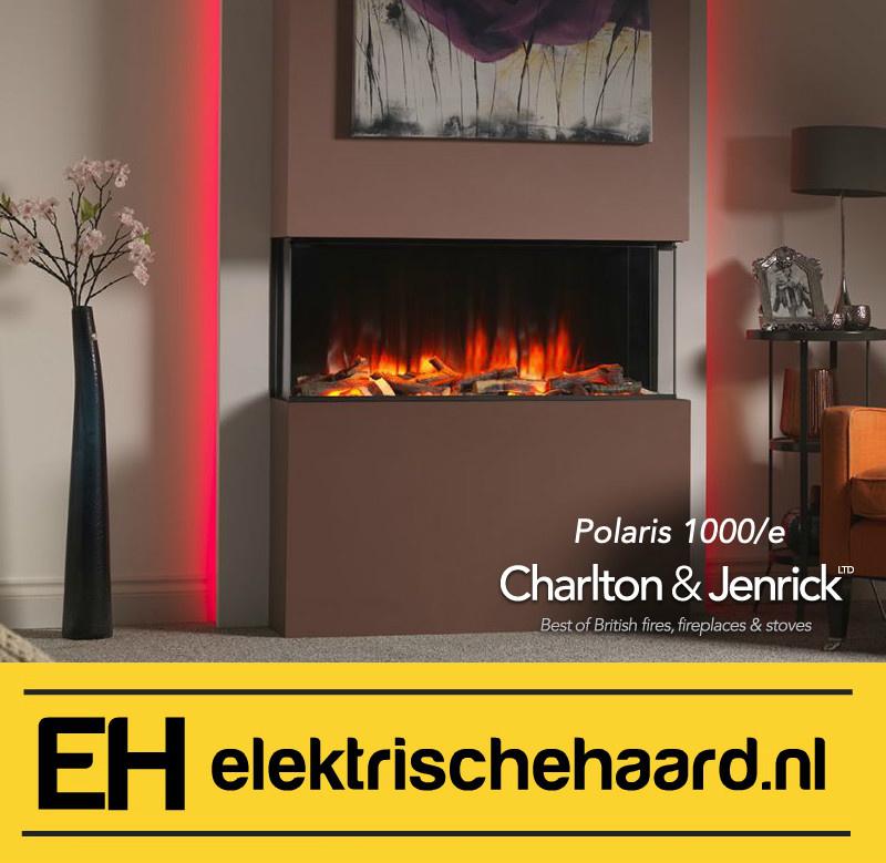 Charlton & Jenrick Polaris fx1000 - Elektrische haard inbouw