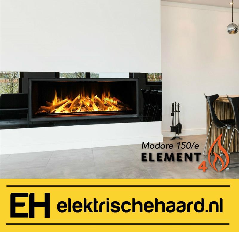 Element4 Modore 150/e - Elektrische haard met App bediening