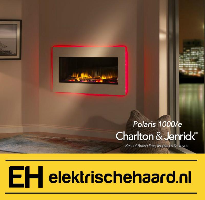Charlton & Jenrick Polaris 100/e - Elektrische haard inbouw