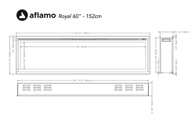 aflamo royal 151cm cinewall tvhaard