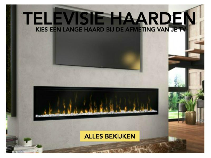 elektrische haard onder jouw televisie - tvhaarden
