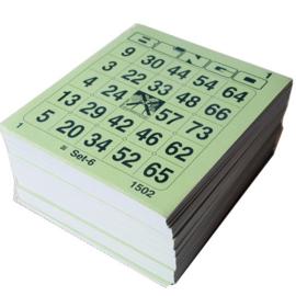 Maxi ticketboeken 1-75