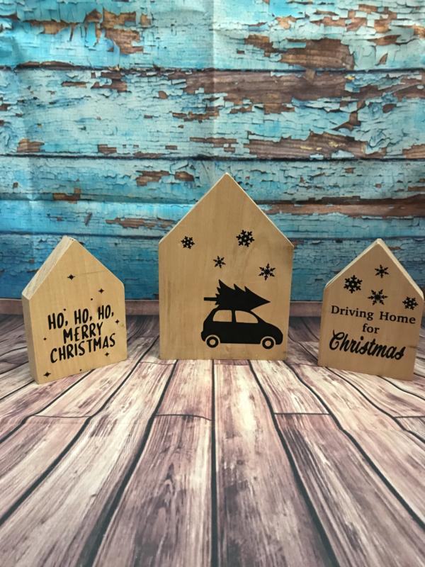 Kerst-huisjes