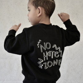No hate zone sweater