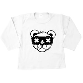 Dope bear wit longsleeve